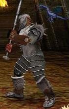 Синий Дракоша в бою
