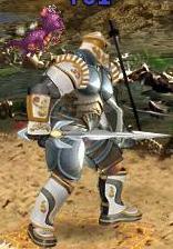 Синий Фееричный дракончик в бою