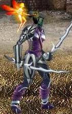 Фиолетовая Фея в бою