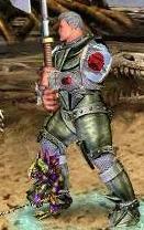 Зеленый Игураон в бою