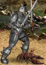 Зеленый Клеширчик в бою
