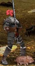 Серый Кодрасенок в бою