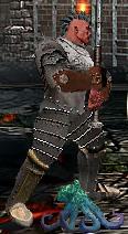 Серый Маленький Корр в бою