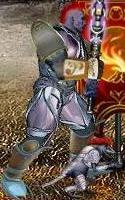 Фиолетовый Крэтс в бою
