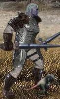 Серый Крэтс в бою