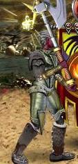 Серый Линг в бою