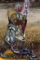 Синий Скорпионыш в бою