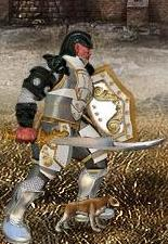 Серый Щенок в бою