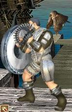 Серый Совенок в бою