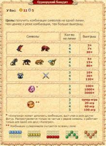 Однорукий бандит в игре легенда наследие драконов