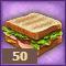 Сытный бутерброд
